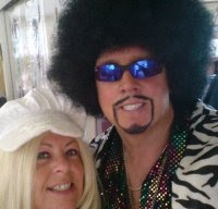 "My 70's Disco Alter Ego ""Steve Sensation""!"