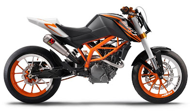 Bajaj-KTM 125cc Bike : Price, Specifications & Photos in india