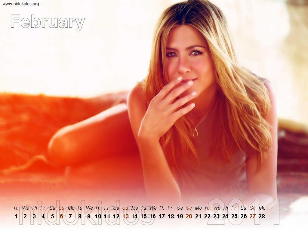 Jennifer Aniston Calendar