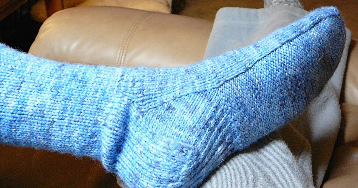 Dog-Lovers Yarn: Comfy Soled Socks - The Pattern