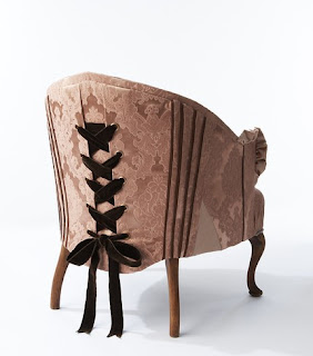 Corset Chair by sarahlouisedix on Etsy