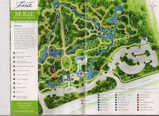 This First Picture Is A Map Of The Garden.