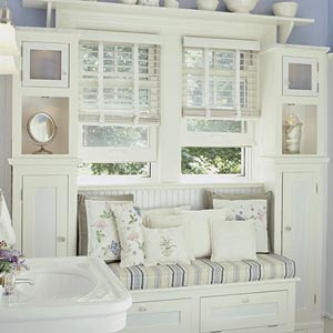 Lilac lane cottage more cottage bathroom inspiration for Country cottage bathroom ideas