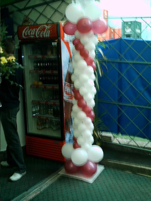 Stilp baloane cca 2m