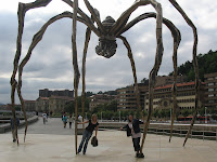 Giant Spider in Bilbao
