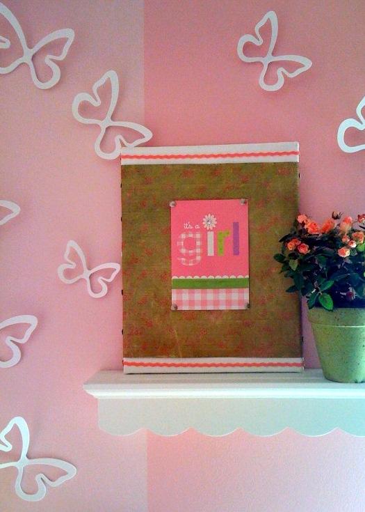 Christmas Card Wall Decor : Loveyourroom how to make greeting card wall art
