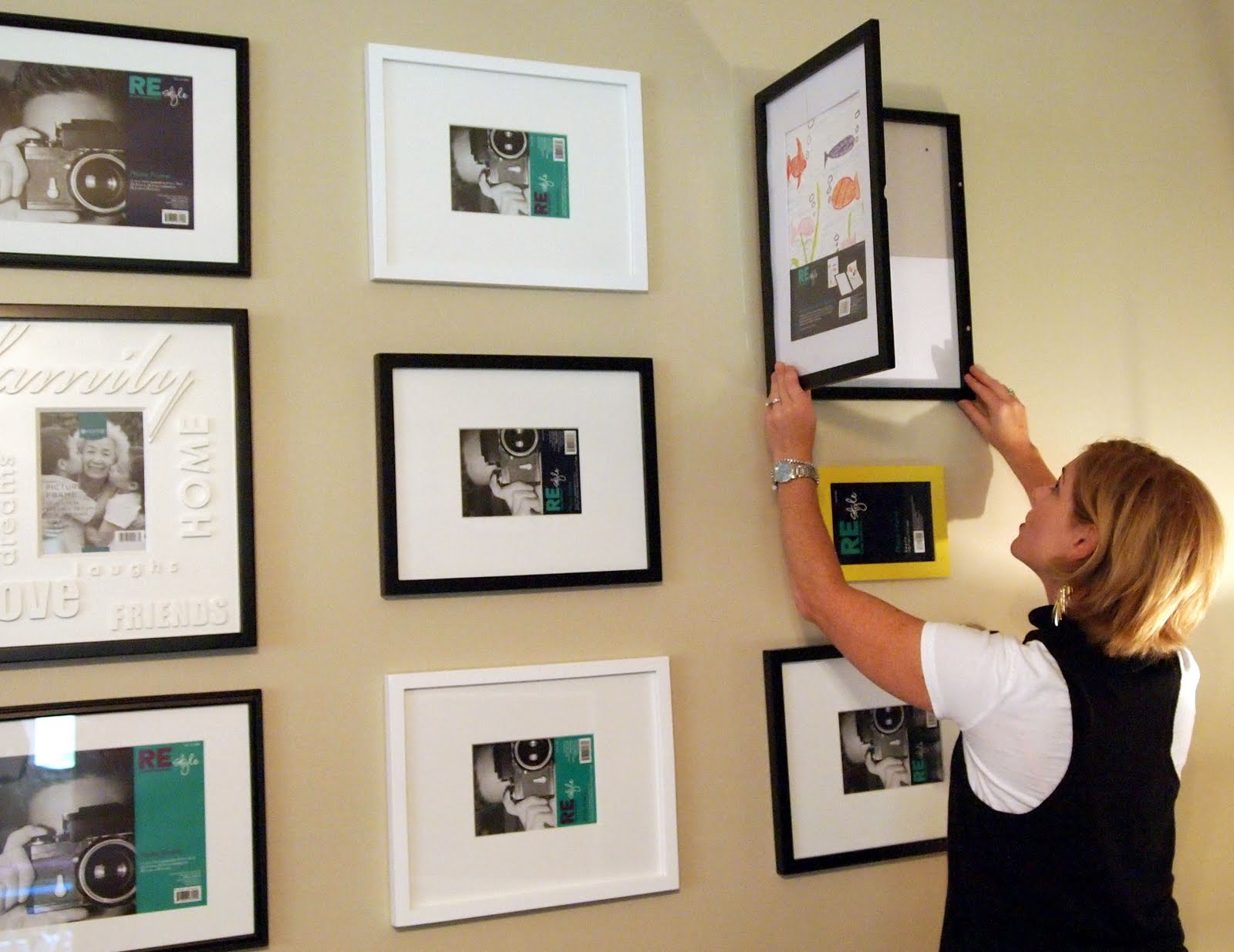 Loveyourroom 8 1 10 9 1 10 for Ways to frame pictures