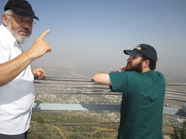 Our Guide Avigdor Silver Of Hoffmans Tours