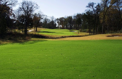 sherman hills golf club - sherman texas - 15th hole