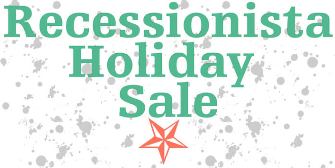 recessionista holiday sale