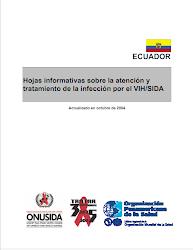 Hojas informativas sobre la atención y tratamiento de la infección por el VIH-Sida 2004