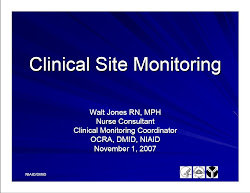 Clinical Site Monitoring