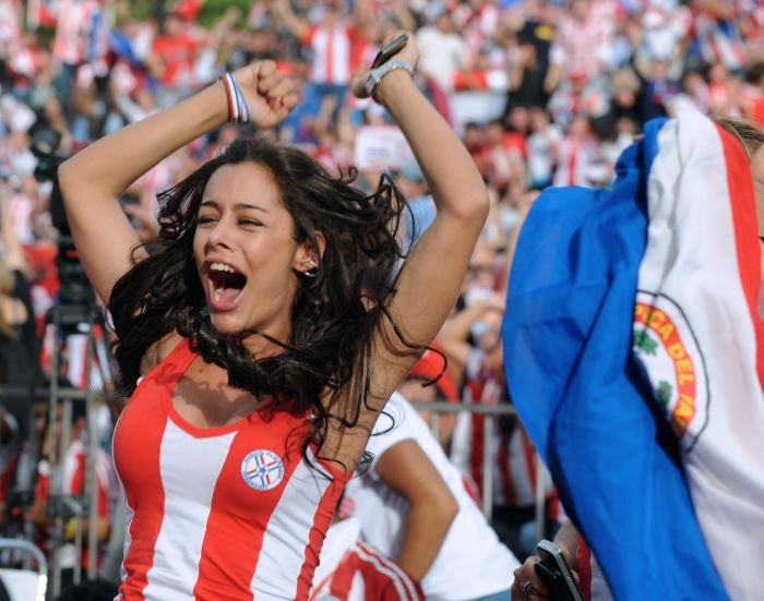paraguay fan larissa riquelme unseen pics