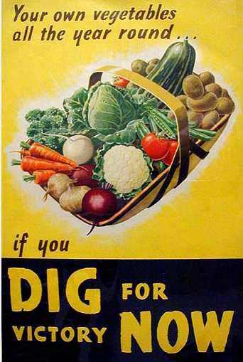 Food And Life Vintage Inspiration Victory Gardens