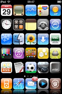 Atingiu as nove páginas de apps? Leia isso!