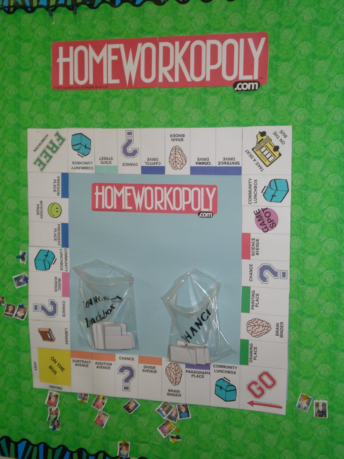 Classroom Incentive Ideas For Middle School : Monarch madness homeworkopoly