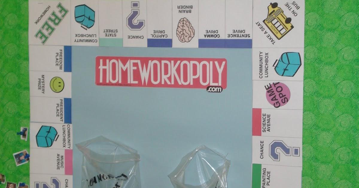 Homeworkopoly