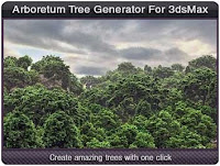 Arboretum Tree Generator for 3ds Max | 12.9 MB