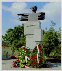 Statuia lui Bela Bartok in orasul natal