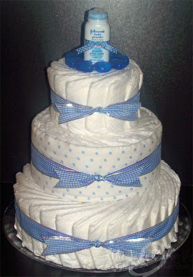 Diaper Cakes With Price Tag