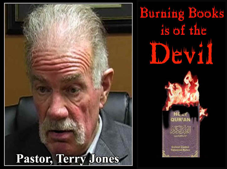 Pastor Terry Jones cancels Koran burning: It is only one bad palm tree that spoils the whole lot of palm wine