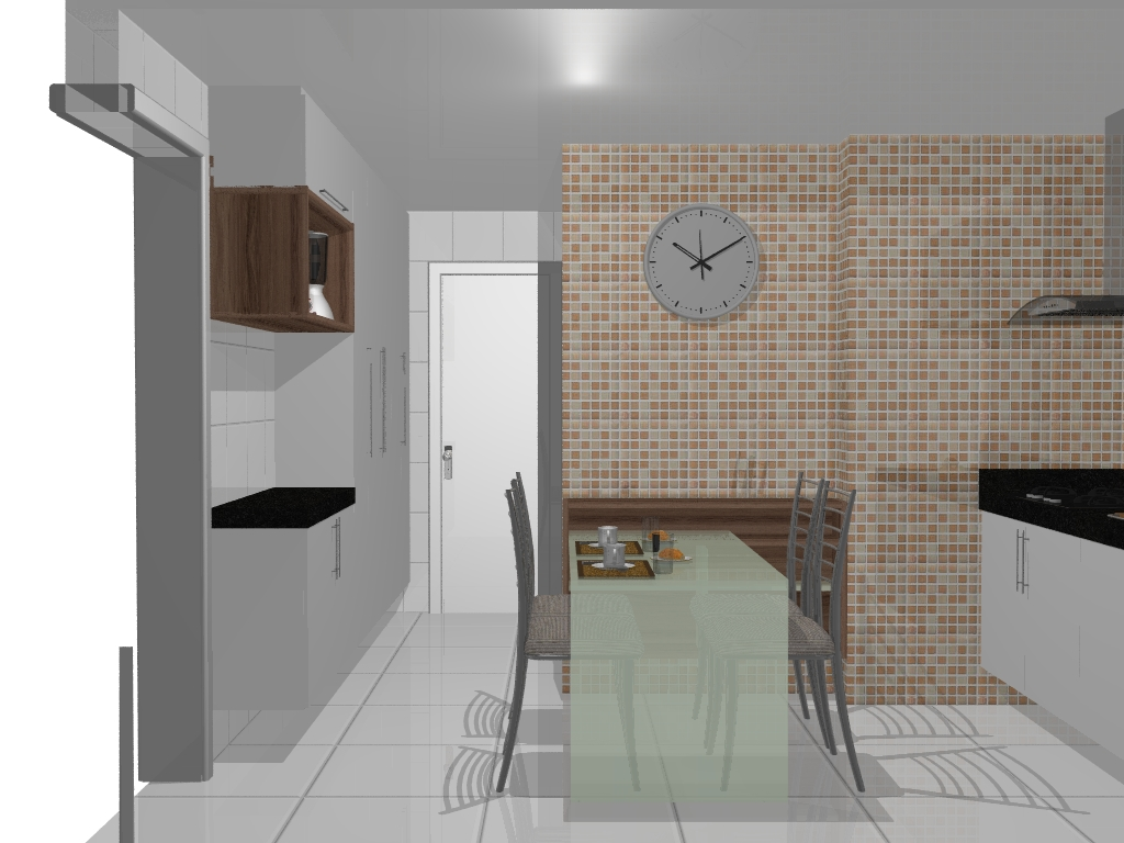 #7C614C Janelas para o passado: Cozinha 1024x768 px Projetos De Cozinhas Conjugadas Com Copa #489 imagens