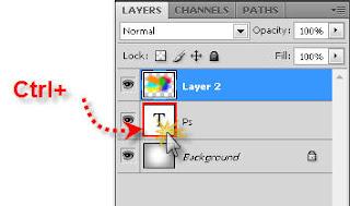8 Photoshop Tutorials: Make Grunge Rainbow text effect