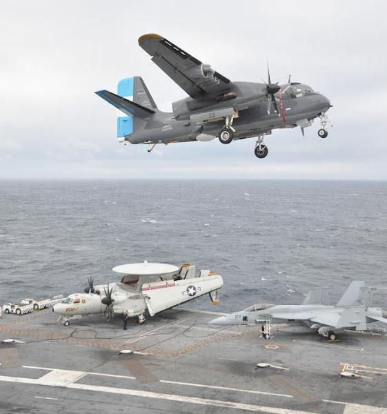 """Operación """"Gringo-Gaucho"""" con el portaaviones USN """"Carl Vinson"""""""