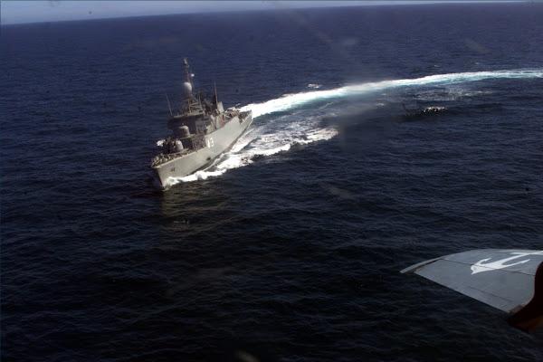 La EA6E participó en la IV Etapa de Mar