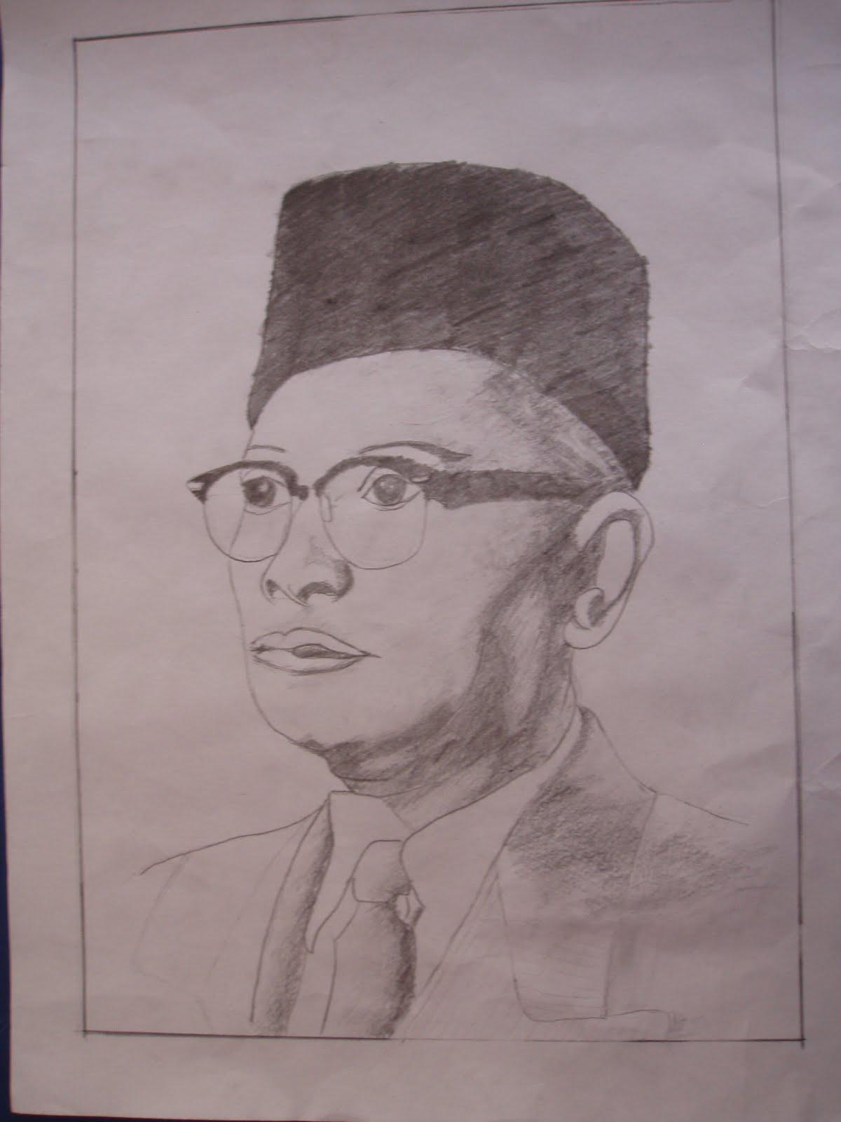 potret tokoh tokoh perjuangan kemerdekaan yang dihasilkan oleh pelajar