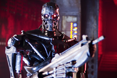 Robot in Terminator 4 Movie