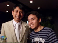Jan Hilado with Bo Sanchez