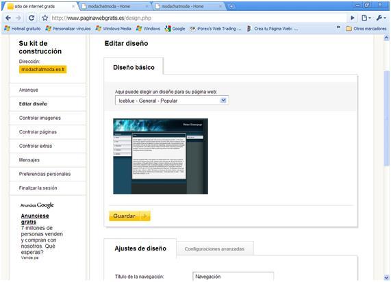 Como tener tu propio sitio web gratis