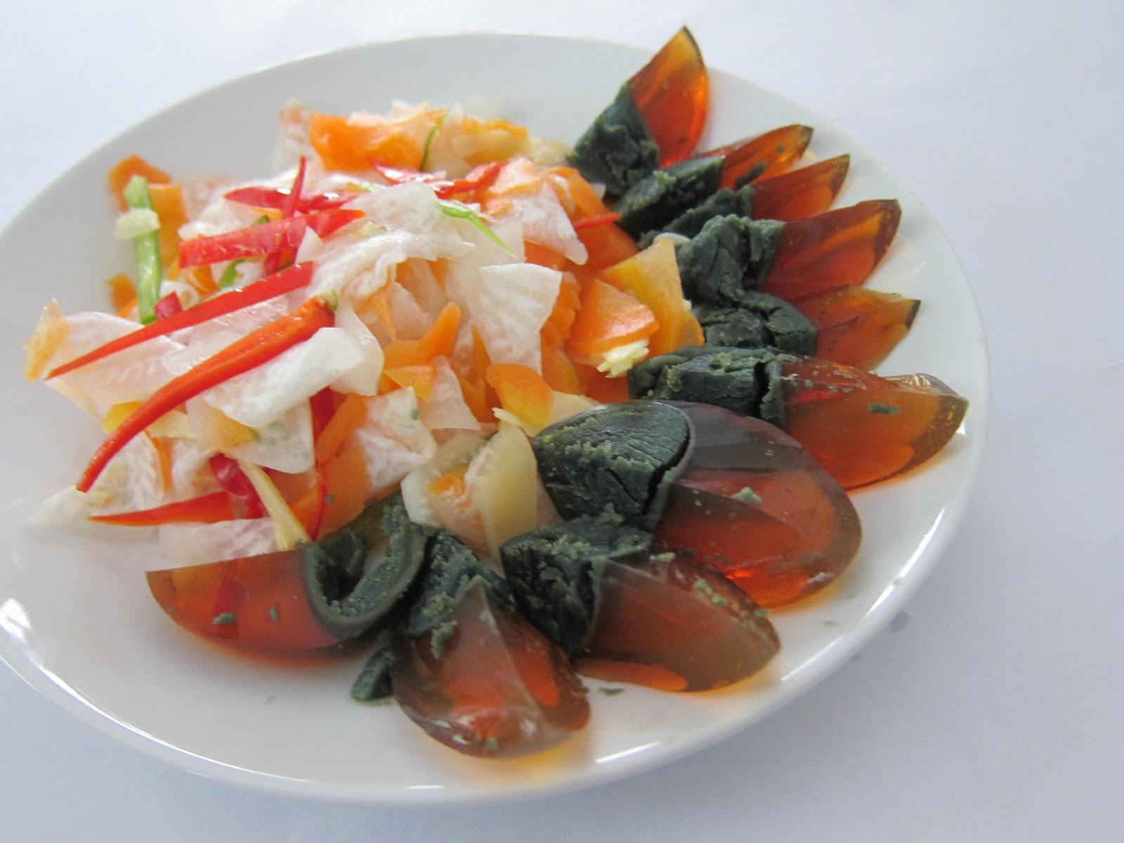 Janet wooi s blog jw chinese new year recipe pickled radish and jw chinese new year recipe pickled radish and ginger with century egg forumfinder Images