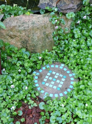 Stepping stone in Gabby's garden