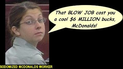 mcdonald employee strip searched