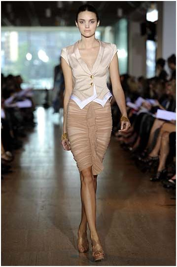 LifeStyle for Blondes: Lisa Ho Spring/Summer 2010 Nude