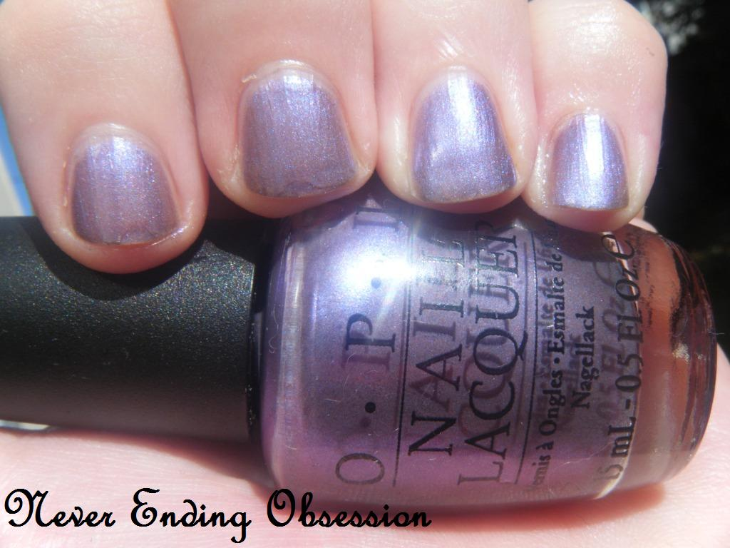 Never Ending Obsession: OPI The Color to watch and I try ...