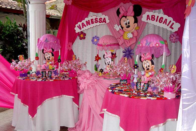 Decoracion Minnie Bebe ~ CUMPLE INFANTIL  Cumple  MINNIE BABY