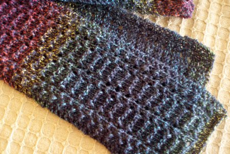 Graywood Designs Free Pattern Little Lacey Scarf