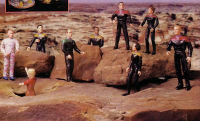 Star Trek Voyager Toys Star Trek Voyager Action