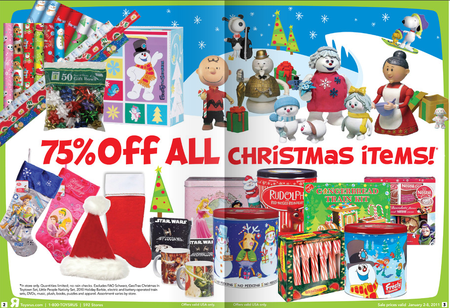 Toys R Us Christmas : Nostalgic g toys r us christmas clearance starts today