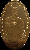 MONEDAS ELONGADAS.- (Spanish Elongated Coins) TO-002-3