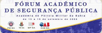 Fórum Acadêmico de Segurança Pública