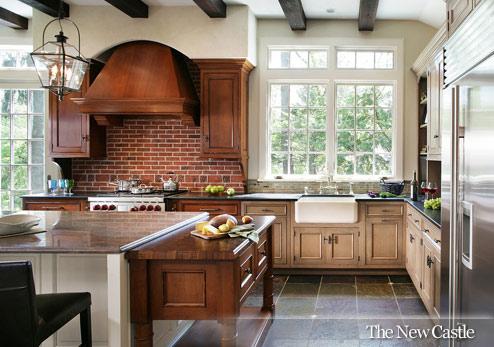 Urban kitchen and bath farm kitchens and quaint corners for Farm style kitchen backsplash