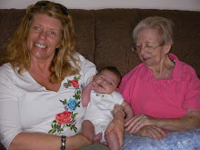 Grandma, baby Ross, and Great Grandma