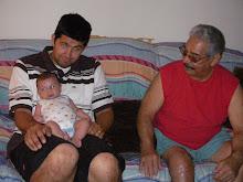 Visiting Great Grandpa