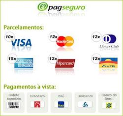 Aceito pagamento no cartão de crédito