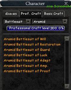 Aramid Battlesuit
