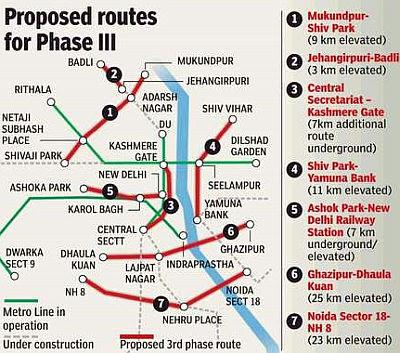 delhi metro map. delhi metro location map
